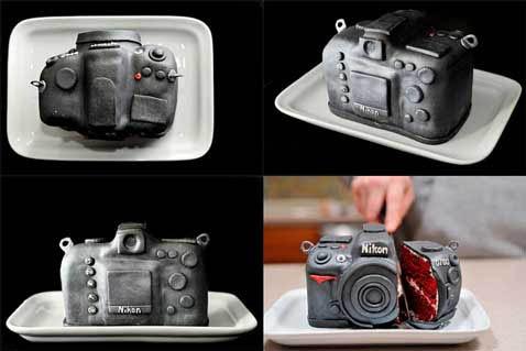 Una Nikon comestible