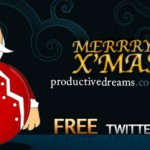 Theme navideño para Twitter