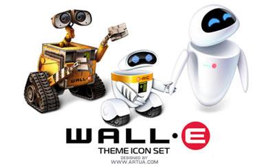Paquete de iconos de Wall-E