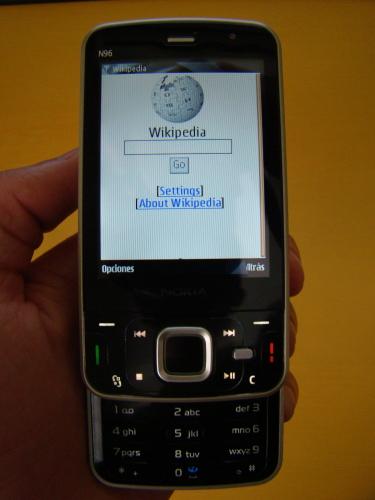 Wikipedia Mobile oficial
