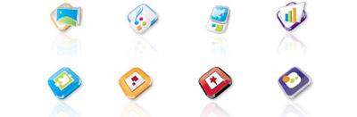 Nuevo paquete de iconos: Calabria