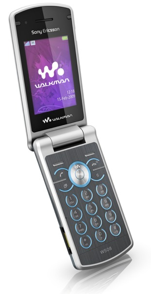 Sony Ericsson W508: un móvil musical