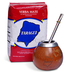 Yerba Mate and Bombilla Set