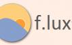 f.lux: Ajusta la iluminacion de tu monitor de acuerdo al horario del día