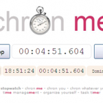 Chron Me, un cronómetro online