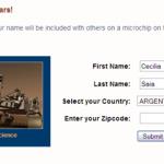 Envía tu nombre a Marte con el Rover de la NASA