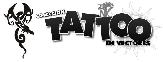 pack de tatuajes en vectorizados especial para darle un toque