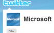 Cuentas oficiales de Microsoft en Twitter
