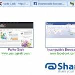 Comparte varios links en forma de pestañas con ShareTabs