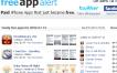 FreeAppAltert te avisa cuando hay aplicaciones para iPhone gratis