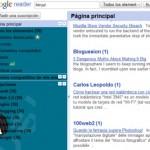 Lista de atajos de teclado para Google Reader