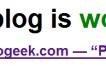 ¿Mi blog está funcionando?