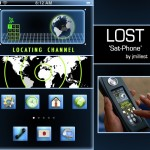 Tema para iPhone: Lost SAT Phone