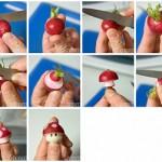 Agasaja a tus invitados con honguitos de Super Mario
