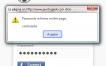 Bookmarklet para mostrar las contraseñas ocultas en los asteriscos