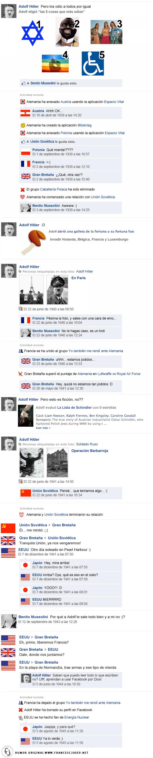 Facebook-hitler