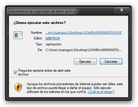 Desactivar el Control de Cuentas de Usuario en Windows 7