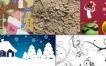 Design Friday: Iconos, texturas y un adelanto de Navidad