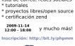 Eventos: PHP Mini Meeting el 14 de noviembre