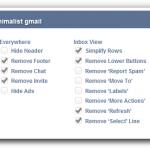 Minimalist Gmail, una extensión de Firefox para volver minimalista a Gmail