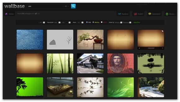 550196 wallpapers por categorias y color
