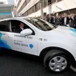 Japón pone a prueba taxis eléctricos