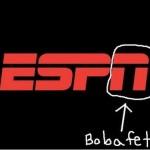 Boba Fett escondido en el logo de ESPN