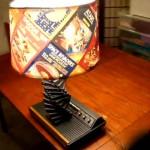 Lámpara de Atari para geeks