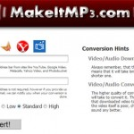 Convertir un video de YouTube a Mp3 con MakeitMp3