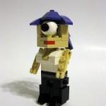 Personajes de Futurama en bloques Lego
