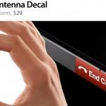 Una forma innovadora de cortar las llamadas en el iPhone 4