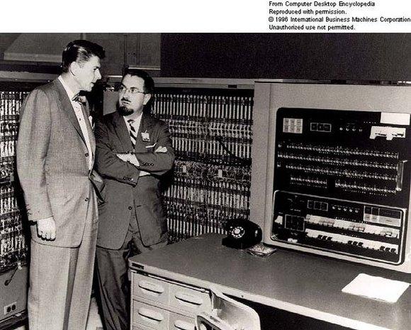 Fotos antiguas de la primera generación de computadoras