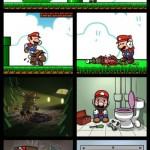 Humor: El otro final de Super Mario