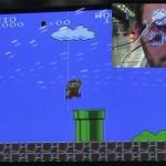 Video: Juego de Mario controlado con los ojos