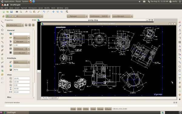 Software CAD para Linux