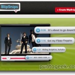 BlipSnips, taggea y comparte segmentos de videos de YouTube