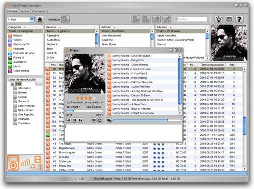 Gestiona tu iPod sin iTunes 38