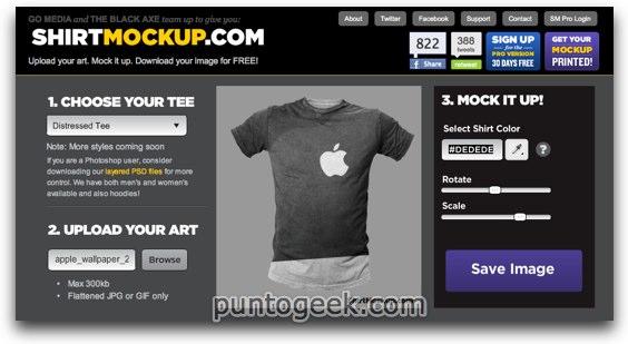 Dise A Tu Camiseta Online Con Shirtmockup Taringa