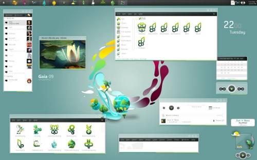 20 escritorios GNU/Linux Personalizados !!
