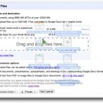 Google Docs permite subir archivos arrastrándolos y función de controles compactos