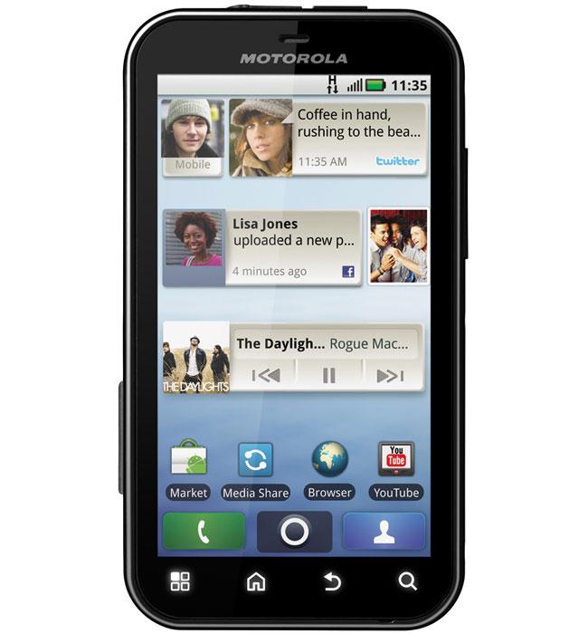 Como usar el Punto 3G WIFI en Motorola Defy y Milestone