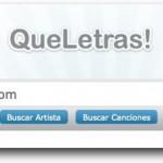 QueLetras!: Buscador de letras de canciones