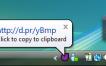 Compartir archivos mediante drag & drop desde tu escritorio