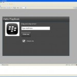 BlackBerry Tablet SDK para Adobe Air, disponible para Linux, Windows y Mac