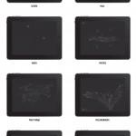 Uso de la interfaz de las distintas aplicaciones del iPad a través de las marcas de los dedos en la pantalla