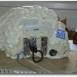 GEEK: Gabinete hecho con espuma de poliuretano