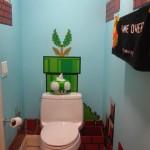El baño de Mario Bros