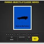 Famous Objects of Classic Movies, un ahorcado para adivinar objetos de películas conocidas