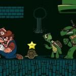 Upps! Mario está en problemas.