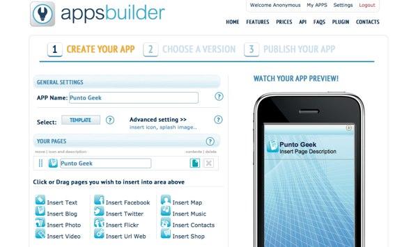 Apps builder crear aplicaciones para iphone ipad y for App para disenar muebles ipad